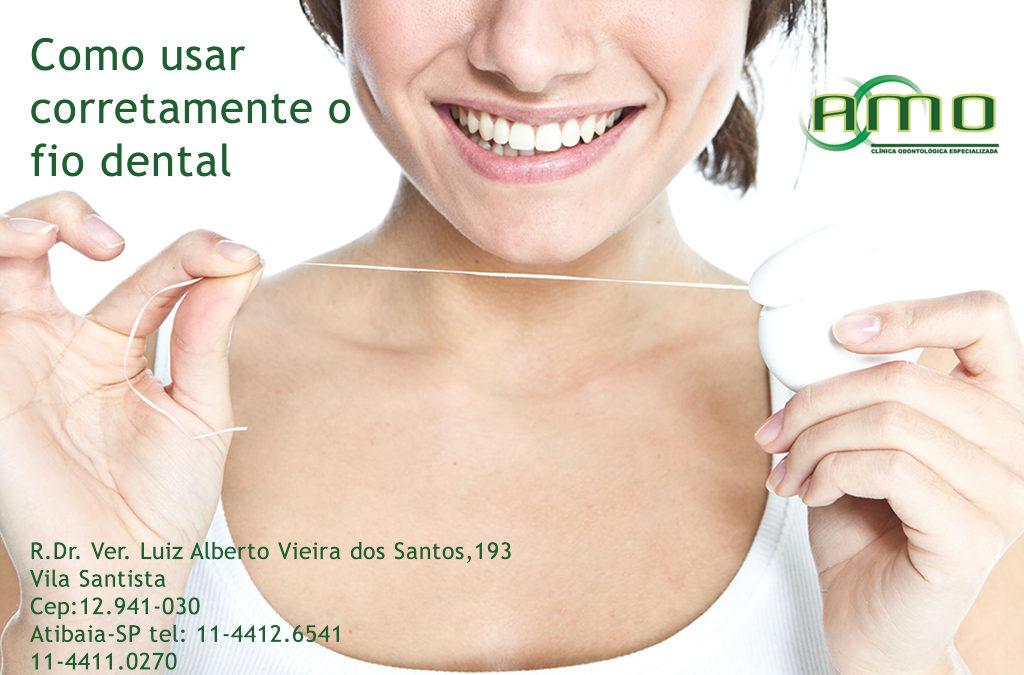 00fba67b1 Como usar corretamente o fio dental - Amo Odontológia