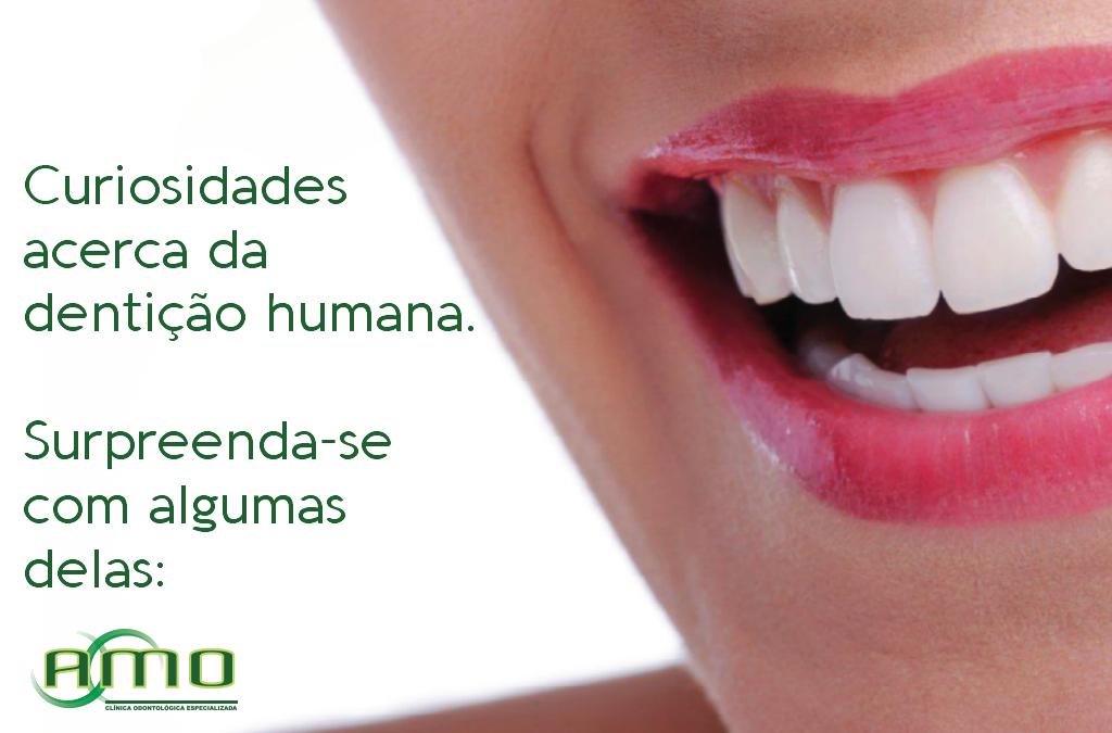 Curiosidades sobre a dentição humana